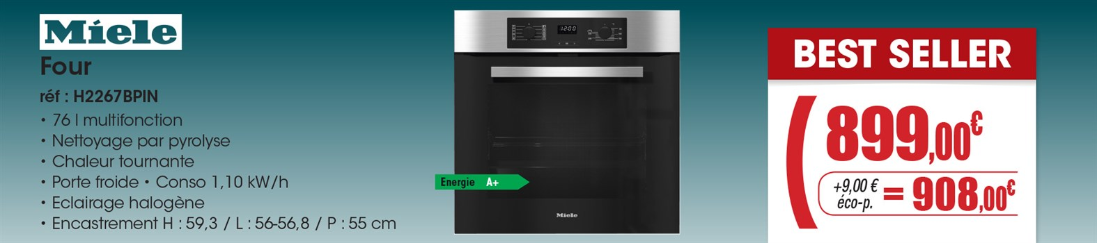 Four Miele H2267BP IN