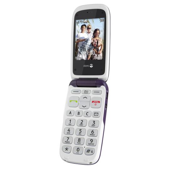 T�l�phone GSM DORO PHONEEASY 612 VIOLET